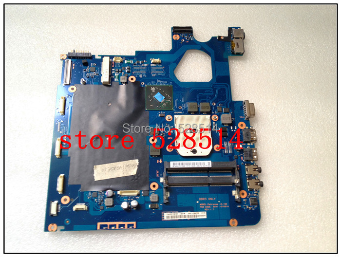 Original Latop motherboard For Samsung NP 305 3050V5 350V5A Main board BA41-01681A BA92-08673B 100% Test ok