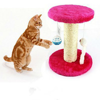 Pine Wood Climbing Tree For Cat Jumping Toy Climbing Frame Cat Furniture Scratching Post Pet Home