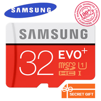 100 Original Genuine Samsung EVO 128GB 64GB 32GB Class10 Micro SD Card C10 80MB S SDHC