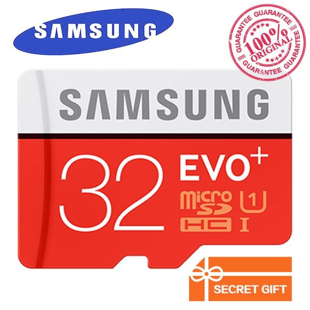 Originale samsung micro sd card 32 gb classe 10 scheda di memoria evo + evo più microsd 256 gb 128 gb 64 gb 16 gb carta di tf schede microsdhc/SDXC