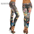 DJGRSTER 2017 Sexy Womens printingg Leggings for Fitness legging high waist Elastic leggins Bodybuilding girls leggings