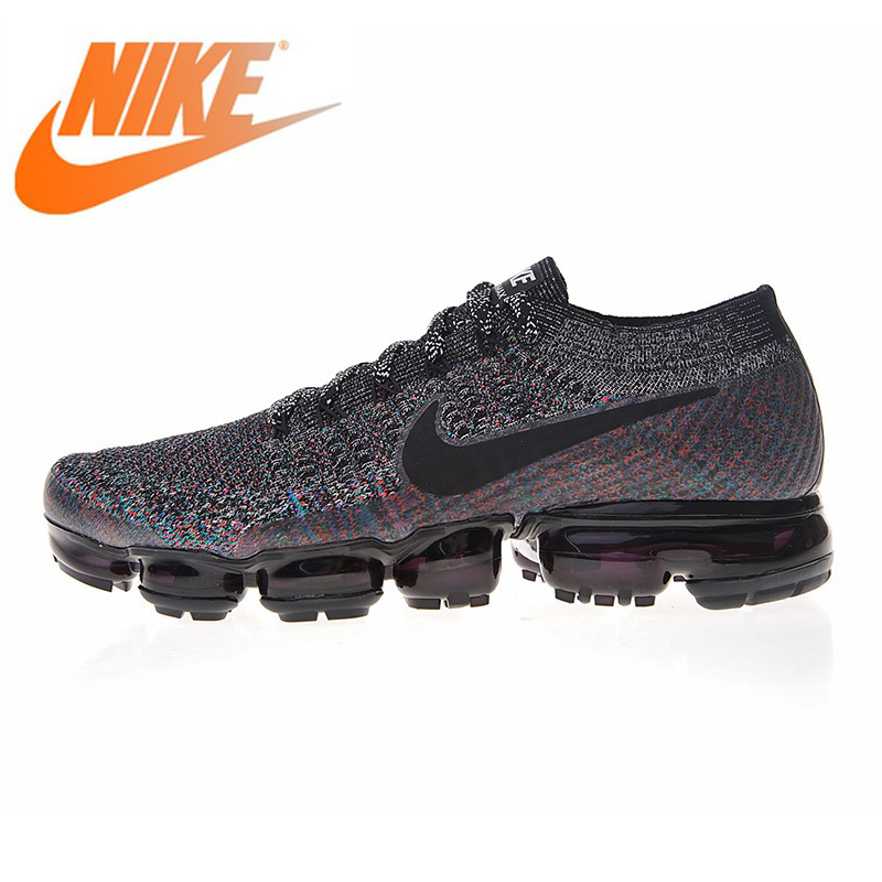 Original authentic Nike Air Vapormax Flyknit mens running shoes shockproof breathable comfortable sports shoes 849558-016Original authentic Nike Air Vapormax Flyknit mens running shoes shockproof breathable comfortable sports shoes 849558-016