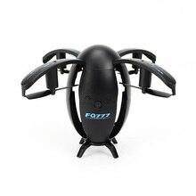 Ei förmigen drone Faltbare UAV Mini WIFI Runde flugzeug Fernbedienung flugzeug Elektrische spielzeug