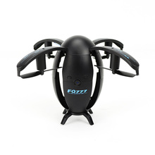 Ei vormige drone Opvouwbare UAV Mini WIFI Ronde vliegtuigen Afstandsbediening vliegtuigen Elektrische speelgoed