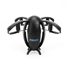 Jajko w kształcie drona składany UAV Mini WIFI okrągły pilot zdalnego sterowania zabawki elektryczne