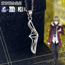 Project K Anime Pendant Totsuka Tatara Silver 925 Sterling Cartoon Character Cosplay Suoh Mikoto Homra Model Figure