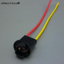 shhworldsea 1pcs T10 W5W Auto Light Bulb Socket Lamp Holder Connector Extension
