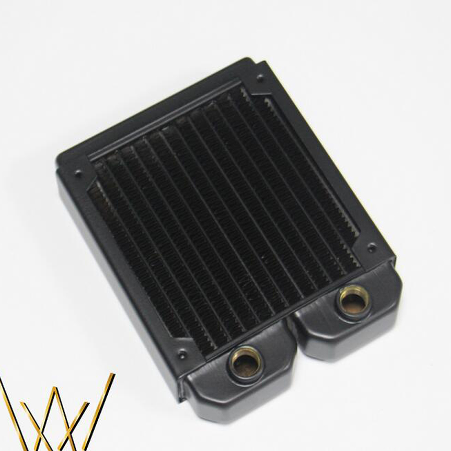 Купить с кэшбэком 120 240 360 480 Fang water-cooled copper radiator exhaust heat exchanger cool water cooling high quality