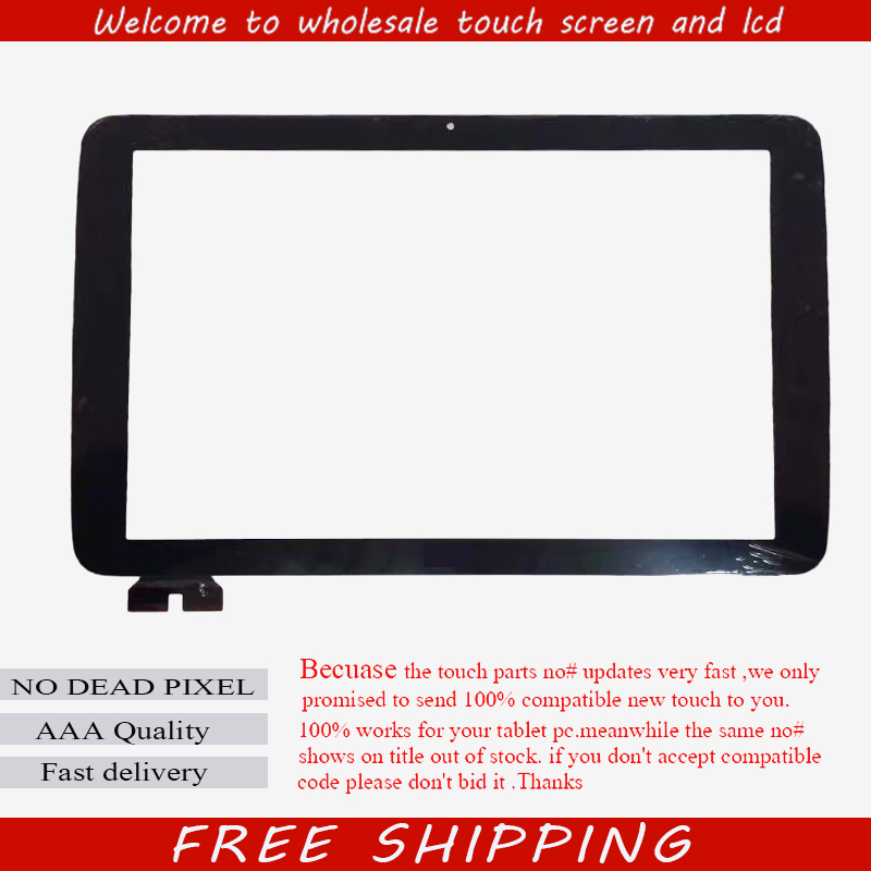 For LG V700 G Pad 10.1 VK700 Tablet touch screen Capacitive Touch panel Digitizer Glass Sensor Replacement Free Shipping