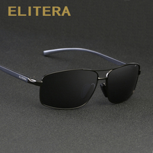 ELITERA Aluminum Magnesium Brand New Polarized Men's Sunglasses 3 Color Sun Glasses Men Driving Goggle Eyewear Accessories