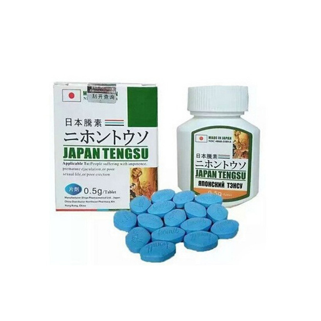 16 pieces/box Tengsu Male Sex Enhancement Good For Heathy