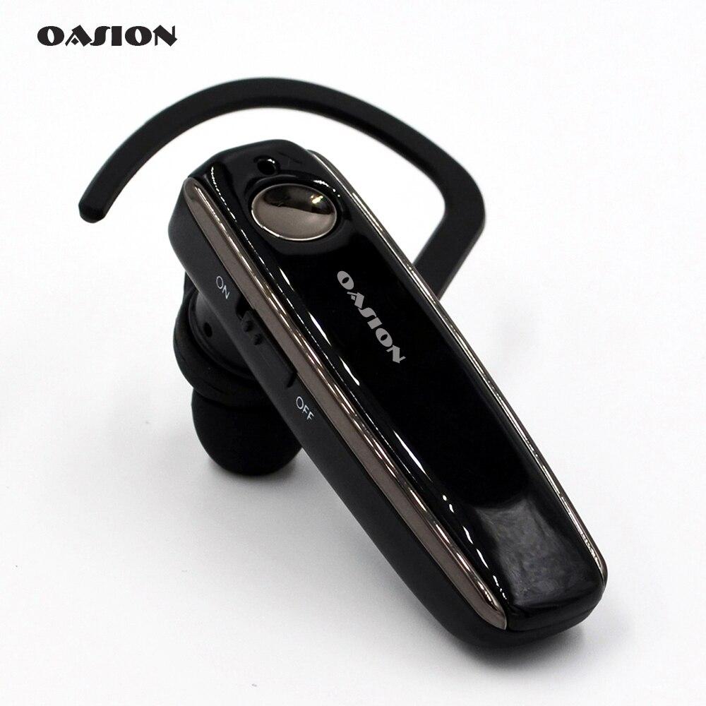 OASION handsfree senza fili Bluetooth auricolare a cancellazione di rumore Affari auricolare bluetooth wireless headphones per un telefono cellulare