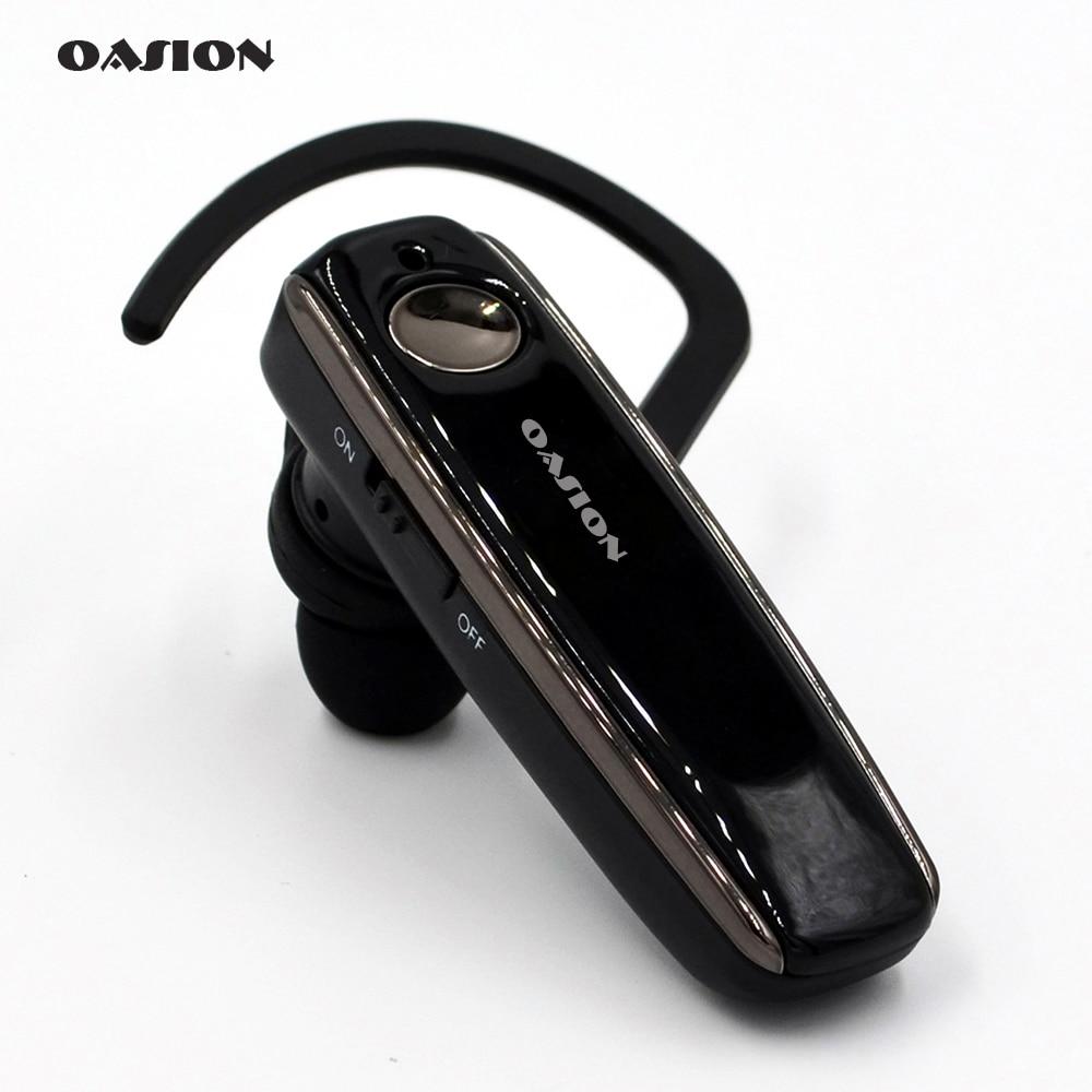 OASION wireless handsfree Bluetooth headset noise canceling Business bluetooth earphone wireless font b headphones b font
