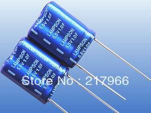 Новый и оригинальный супер конденсатор 5,5 V 1F 1.5F 2F 4F 0.1F 0.22F 0.33F 0.47F, бесплатная доставка, конденсатор Farad, Суперконденсатор