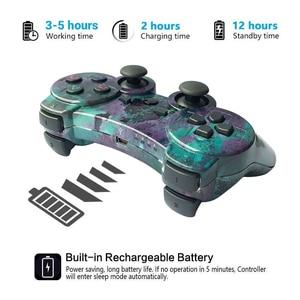 Image 3 - K ISHAKO المراقب المالي ل PS3 PC سماعة لاسلكية تعمل بالبلوتوث غمبد لسوني PS3 بلاي ستيشن 3 لعبة dualshock Joystic
