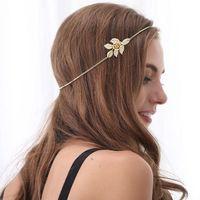 1 x Mode Chaînes Tête de Bande de cheveux Accessoires Or Couleur Livraison Gratuite