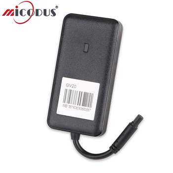 3G GPS Tracker Car GV20 Tracker Vehicle WCDMA Waterproof Realtime Tracking Device Remote Cut Off Fuel Power 9-36V Voltage
