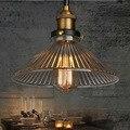 Industrial Pendant Light Vintage Pendant LightS Hanging Lamp Bar Cafe Lamps Fixtures Edison Bulb E27 Designer Lamps Glass Metal