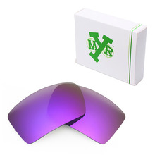 Mryok POLARIZED Replacement Lenses for Oakley Eyepatch 1 2 Sunglasses Plasma Purple
