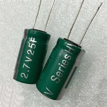 2.7 В 25F суперконденсаторов объем 16*26 (мм) новый оригинальный фарах емкости Low ESR высокой плотности мощности 2.7 В 25F фарах емкости