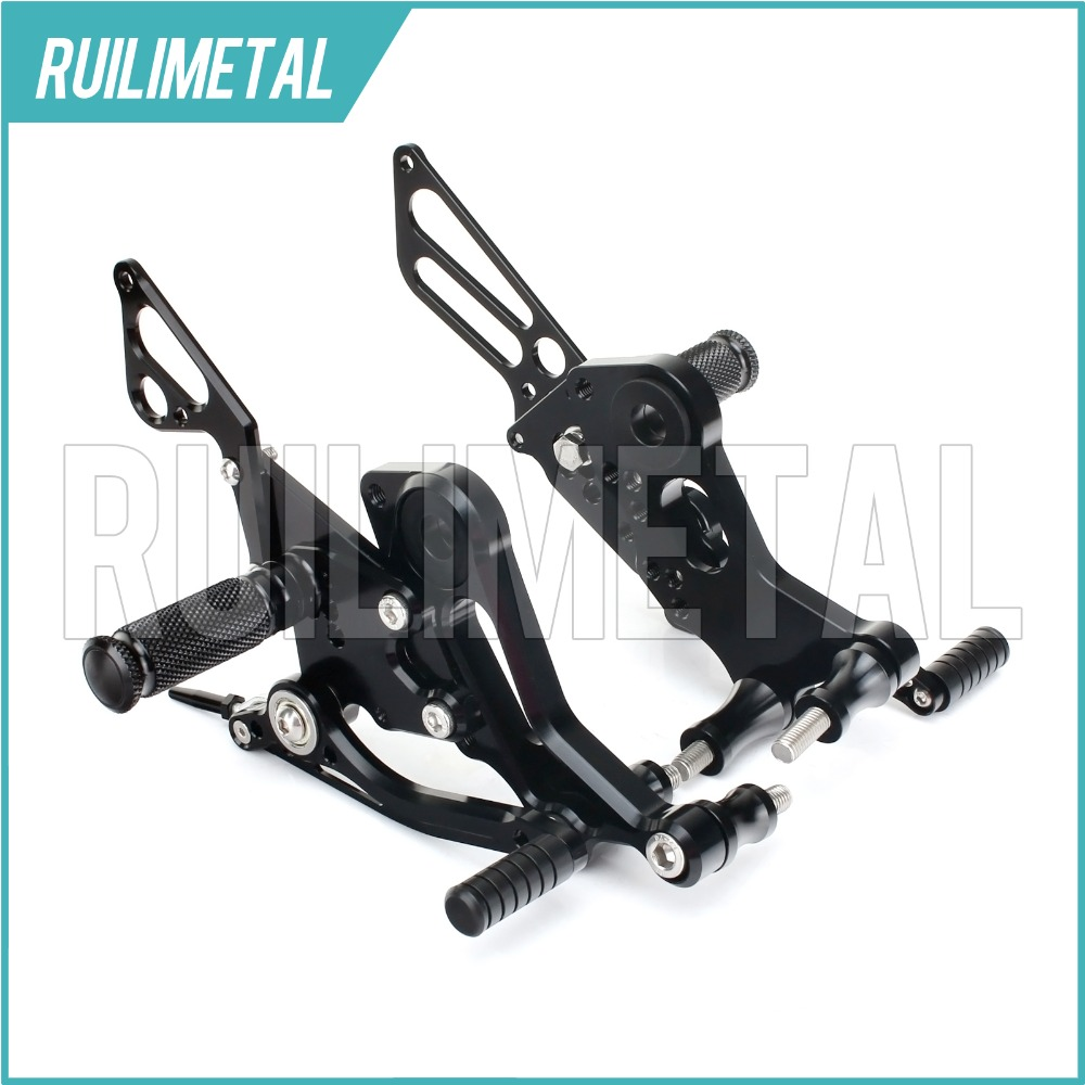 New CNC Adjustable Hot Sale Comfortable Rearsets Rear set Footpeg Footpegs Foot Rests Footrest For DUCATI Monster 796