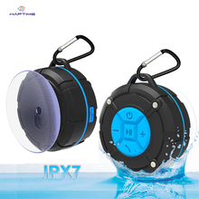 цена на IPX7 Waterproof Bluetooth Speaker Outdoor Portable Wireless Subwoofer Loudspeaker Shower Bicycle Speakers with Suction Cup