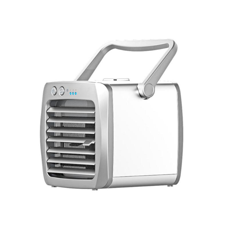 где купить Portable Mini Air Conditioner Cooling Fan USB Air Cooler Fan Humidifier Purifier for Home Office Desk Personal Space Cooler дешево