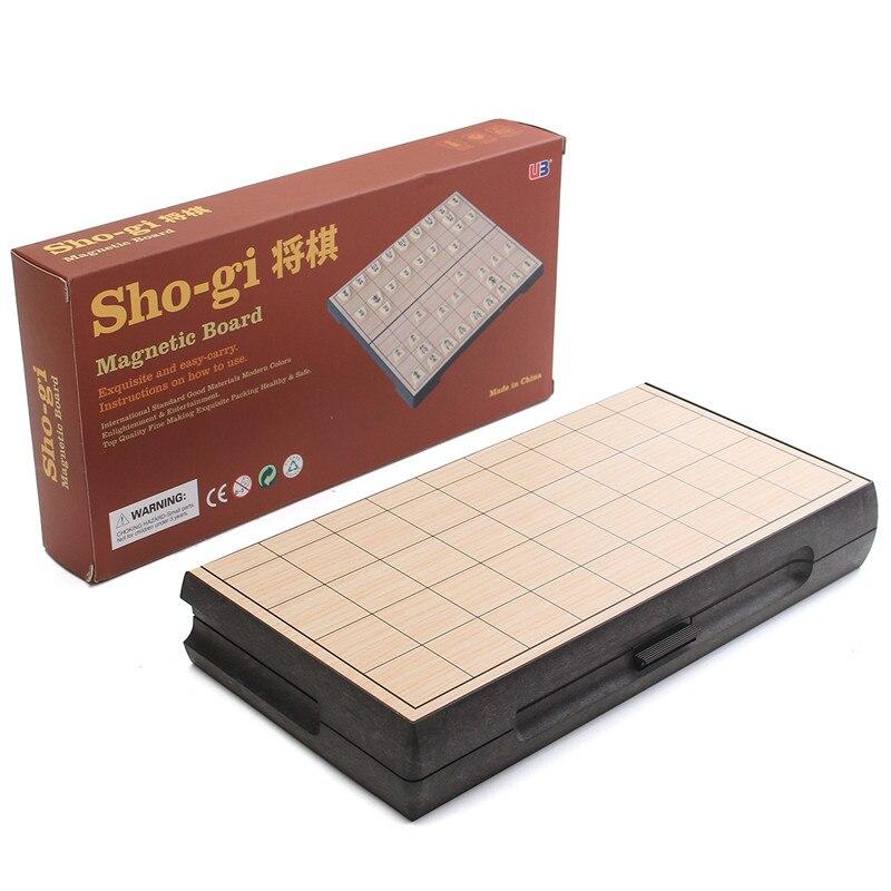 Jogo de Xadrez Dobrável Magnética Shogi Sho-gi