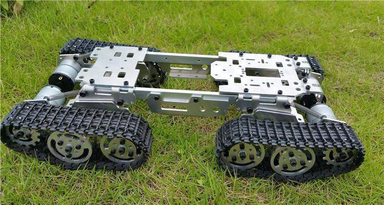 WZY569 Intelligence RC სატანკო მანქანის - დისტანციური მართვის სათამაშოები - ფოტო 2