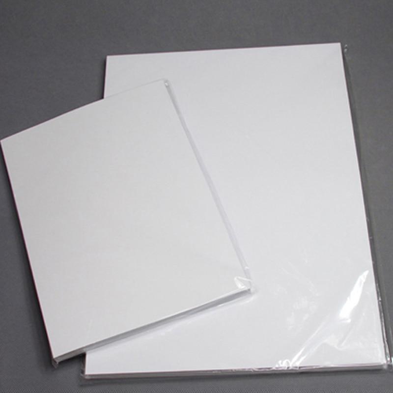 100 pièces imprimante A4 papier de transfert de colorant Sublimation papier de transfert de chaleur pour T-Shirts modaux tasses enduites étuis de téléphones portables