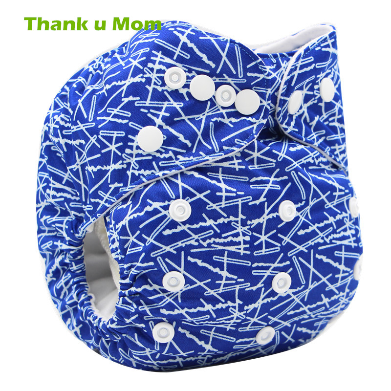Thank u Mom Cheap and Quality Ecological Cloth Diaper Baby Nappies Reusable PUL Waterproof Plastic Panties fralda de pano