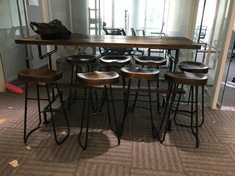 Il villaggio di mobili retrò vintage metal tavolo bar