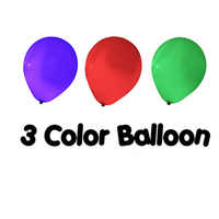 3 Color Balloon Remote Control Magic Tricks Color Change Balloon Magia Magician Stage Illusions Gimmick Props Mentalism Fun