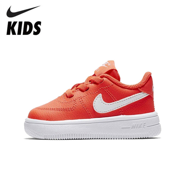 the latest d61b4 57c96 NIKE Kids FORCE 1 18 (TD) Official Toddler Comfortable Sports Running Shoes  Breathable Sneakers 905220-400603