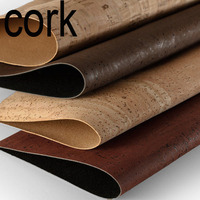 MB Cork Portuguese Original Cork Brown Dark Red Natural Rustic Cork Cork Fabric Cork Leather Eco