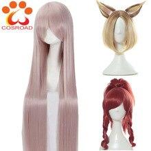 코스프레 lol 프레스티지 에디션 kda ahri akali kaisa evelynn 코스프레 의상 가발 여성 가발