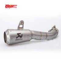 TKOSM R3 YZF R3 R25 MOTORCYCLE EXHAUST MUFFLER Middle Pipe FOR YAMAHA R3 YZF R3 R25