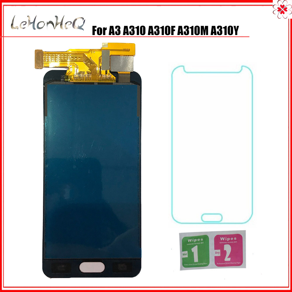 Can adjust LCD For <font><b>Samsung</b></font> Galaxy A3 2016 A310 <font><b>A310F</b></font> A310M A310Y LCD <font><b>Display</b></font> Touch <font><b>Screen</b></font> Digitizer Assembly image