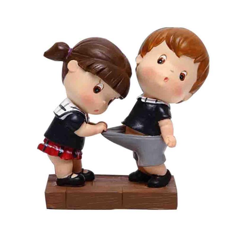 Cute Romantic Kiss Couples Models <font><b>Resin</b></font> Crafts <font><b>Doll</b></font> Ornaments <font><b>Wedding</b></font> <font><b>Lovers</b></font> Gift <font><b>Home</b></font> Table Desktop <font><b>Decor</b></font> R5