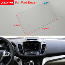Car Sticker 8 Inch GPS Navigation Screen Steel Protective Film For Ford Kuga Control of LCD Screen Car Styling