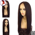 100 Human Hair Wigs For African Americans U Part Wig Indian Virgin Hair 1X3 Long Kinky Straight For Black Women Hotselling