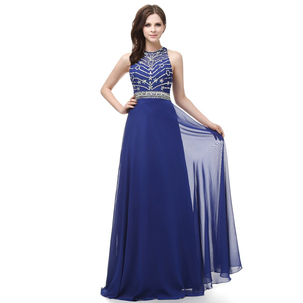 H007 real photo vestido de festa long evening dress formal evening ...