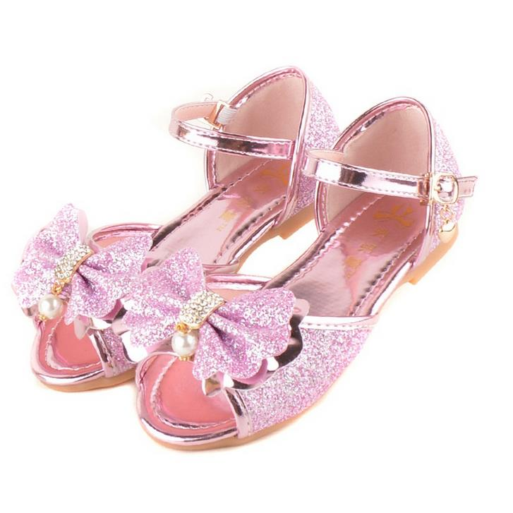 Detail Feedback Questions about qloblo 2018 New Children Shoes Princess  Girls Mules   Clogs Flat Shoes Bowtie Sandals Bow Sweet Sandals Beaded Shoes  26 36 ... 1bce4a61f565