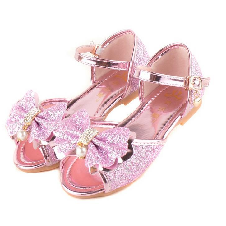 qloblo 2018 Zapatos nuevos para niños Princesa Niñas Mulas y zuecos - Zapatos de niños