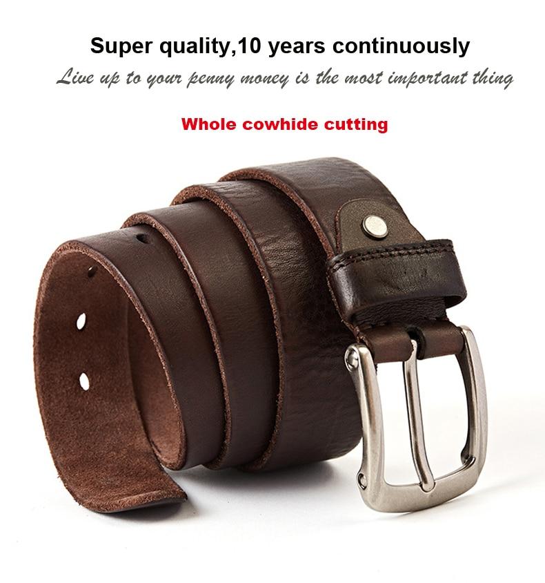 1f255a22550a MEDYLA nowe mody marki luksusowe skórzane pasy dla mężczyzn rocznika ...