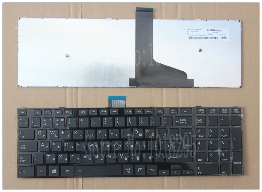 Russian Keyboard for Toshiba Satellite C50 C50D C50-A C50-A506 C50D-A C55 C55T C55D C55-A C55D-A RU Keyboard for toshiba satellite s70 a 11p s70d a s70t a s70t a 070 s70t a 108 s75 a s75 a7344 s75d a canadian clavier keyboard