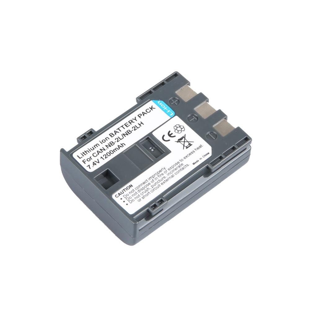 1 pcs Digital Battery NB-2LH NB 2L NB2L BP 2LH 2L5 for Canon Cameras DC310 DC320 DC330 DC410 DC420 HV20 HG10 EOS 350D 400D G7 G9