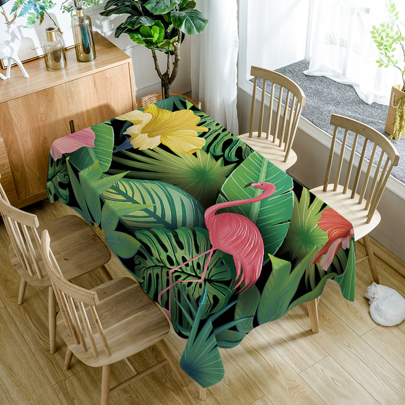Aliexpress.com : Buy Tropical Plants Pattern Table Cloth