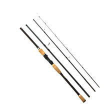 PALAEMON High Quality Carbon Spinning Fishing Rod 2.1m 2.4m Fast Action 4 Sections Portable