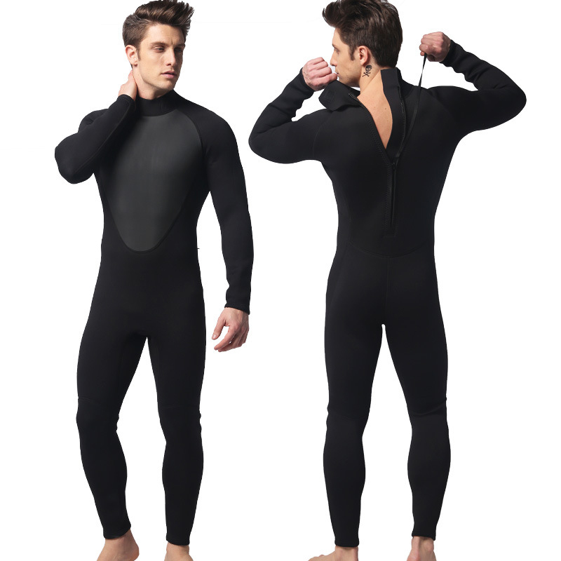 Professional Wetsuit Men Diving Suit 3mm Neoprene Wetsuits Full Body Scuba Surfing Diving Wetsuits Snorkeling Fishing Boating sbart 3mm wetsuit scuba diving suit neoprene wetsuit men fishing surfing wetsuits full body one piece dive surf wet suits